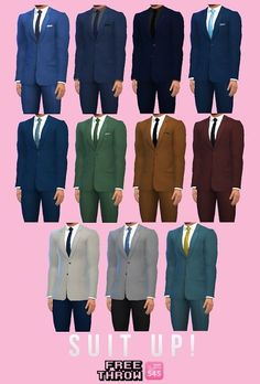 CC-freethrow: Suit Up! • Sims 4 Downloads