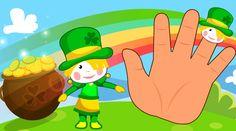 The Finger Family - Kids-Songs \ st  patrick's  finger family