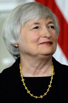 Janet Yellen - First woman to head the Federal Reserve,the most influential central bank in the world.