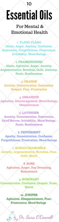 10 Essential Oils for Mental and Emotional Health and Well Being. Try these natural remedies to help combat life's various stresses. Re-Pin if you're in! For more natural health simplified click on the image.