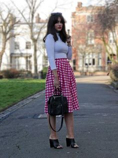 Picnic skirt | Look What I'm Wearing