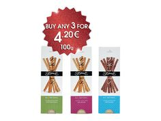 #Creta Mel Orino #Honey #Sesame Bar 100gr Honey Sesame Bar with Almond 100gr Honey Sesame Bar with Chocolate 100gr, Buy any 3 for 4.20 €