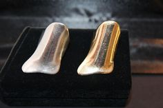 Rings designed by Cathe Linton in 1976, made to order.