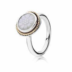 PANDORA | Daisy signet. Follow Renaissance Fine Jewelry or see us at www.vermontjewel.com. We sell the complete Pandora Jewelry Collection.