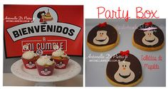 Cupcakes y galletias de Mafalda. Cumpleaños, cookies, detalles