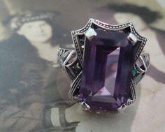 Stunning Sterling Silver Alexandrite & Opal by TreasureTradersOfTN, $64.99