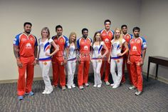 #RCB Players with White Mischief Girls at Photo-shoot