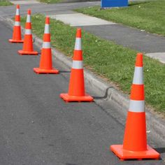 Searching for highway cones & safety cones? We have the largest range and best priced selection of road safety cones, orange cones, flexi-posts and bollards in New Zealand. Road Warning Signs, Safety, Highway 1, Searching, Painting, Posts, Orange, Street, Security Guard