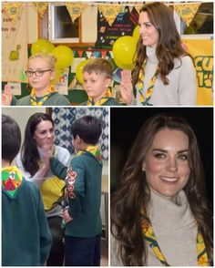 The Duchess has volunteered with The Scout Association since 2012, attending various events with the Cub Scouts and Beaver Scouts such as camping trips. Chief Scout Bear Grylls, who attended the Queens Scout Awards back in 2013 with the Duchess, said: 'The Duchess is an incredible role model and she helps us show that Scouting's not just for boys. She's also a generous volunteer and everyone is so excited to have her in the Scouting family.' Scouts Association member Simon Carter today…