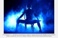 Beyonce is steamy at 56th Grammy Awards performance - Atlanta Entertainment | Examiner.com ... http://www.examiner.com/article/grammy-awards-beyonce-jayz-mymeapparel-valeri-reaves