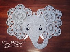 Crochet Patterns Elephant Rug : Crochet & My Home on Pinterest Crochet Rugs, Trapillo and Doily Rug