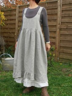 Eulalie rustic linen - this needs a light white tee or linen shirt and I'd be tickled to death with it