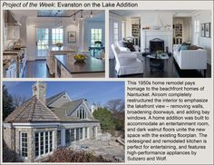 Spotlight Project of the Week: Evanston on the Lake Home Addition