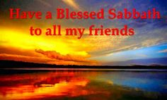 ELLEN G. WHITE @E_G_WHITE  The Sabbath is the clasp which unites God and his people. ~ RH.10.28.02