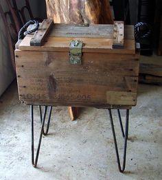 Grenade box table