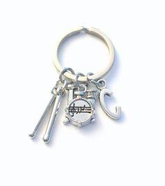 Organza Bag Paddle Steamer Handmade Pewter Key ring