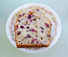 Coconut & Lime: cranberry bread