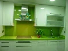 Cocinas verdes | Decorar tu casa es facilisimo.com