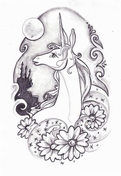 last unicorn design by kyuuketsukirachel.deviantart.com on @DeviantArt