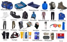 If anyone planning to do adventure trekking in Nepal then you have well prepared and check list of the equipment for trekking in Nepal with branded gears. Trekking Gear, Nepal Trekking, Everest Base Camp Trek, Hiking, Camping, Victorious, Mount Everest, Survival