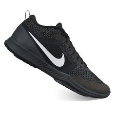 Nike Zoom Domination TR Men's Cross Training Shoes, Size: 7.5, Black