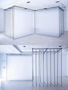 """DAYDREAM"" light installation by Nonotak"