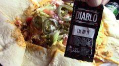 Taco Bell Spicy Triple Double Crunchwrap of DOOM