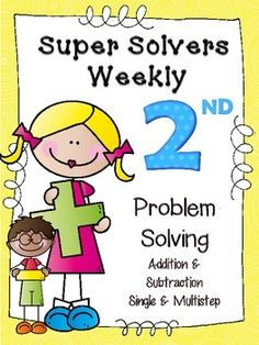 Just uploaded... Weekly single & multistep problem solving for 2nd grade. Problems are broken down to help understanding, assessment embedded, and quick review of skills each week. $