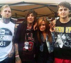 bring me the horizon and  Demi Lovato, when did this happen