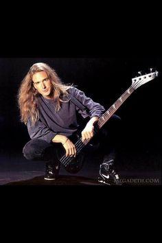 Nick Menza, David Ellefson, Grunge, Bass Guitar Lessons, Dave Mustaine, Joan Jett, Band Memes, Heavy Metal Bands, Thrash Metal