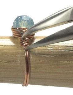 Simple Wire-Wrapped Ring Tutorial #simplewirewrappedrings