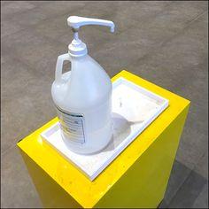 Coronavirus Mall Sanitizer Visual Merchandising