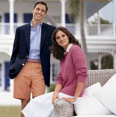 """A preppy couple circa The more classic preppy style of today. Growing up, I was never what you would call a """"preppy girl"""". Preppy Family, Preppy Look, Preppy Style, 80s Party Outfits, Preppy Summer Outfits, 80s Fashion Men, Preppy Fashion, Men's Fashion, Classy Girl"""