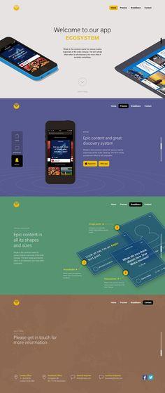 Unique Web Design, Ecosystem #webdesign #design (http://www.pinterest.com/aldenchong/)