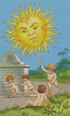 here comes the sun ♥ Lenormand Tarot