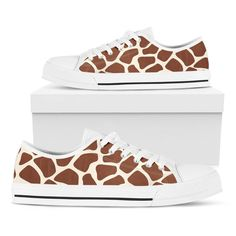 Classic Sneakers, Casual Sneakers, Casual Shoes, High Top Sneakers, Giraffe Pattern, Giraffe Print, Stand Tall, How To Look Pretty, Chuck Taylors