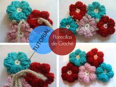 Tutorial Paso a Paso Florecillas de Crochet - Patrones Crochet
