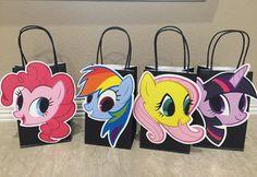 Mis bolsitas de fiesta Pony por KaysKoutureKreations en Etsy