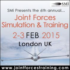 Joint Forces Simulation and Training at Holiday Inn Bloomsbury, Coram Street, London, WC1N 1HT, UK on Feb 2, 2015 at 9:00 am ends Feb 3, 2015 at 5:00 pm. JFSandT 2015 will showcase in-depth discussions on joint forces training initiatives and current training tools which allow the development of strategic alliances and knowledge transfer. Price: £599 - £1499