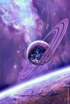 Space and Astronomy. The heavens are declaring the glory of God. For anyone who loves the astronomy Purple Love, All Things Purple, Purple Rain, Shades Of Purple, Purple Stuff, 50 Shades, Galaxy Space, Galaxy Art, Space And Astronomy