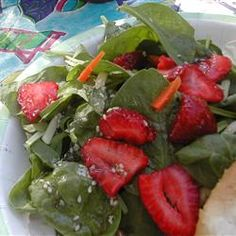 Strawberry Spinach Salad I Allrecipes.com