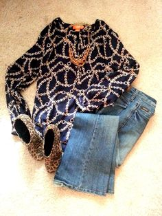 Todays outfit joe fresh top, bella dahl flare jeans , sam & libby leopard booties