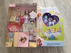 Barbie Mattel Happy Family Midge Nikki Babys 1.Geburtstag Set OVP Neu RAR