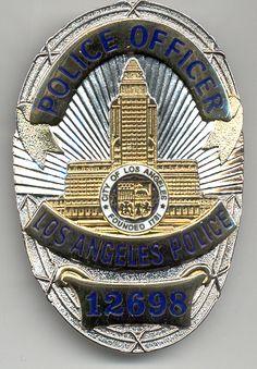 LAPD - Badges etc - Police / Fire memorabilia