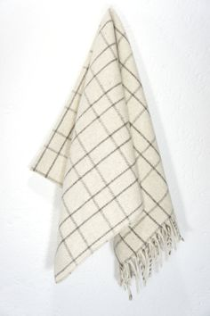 Wool Blanket 'Polanco Cream'