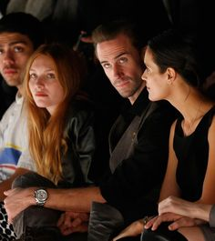 Spotted in the front row at #Mercedes Benz #Fashion Week #Berlin: the #Capeland 10064 on #JosephFiennes's dashing wrist.