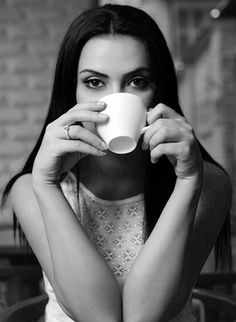 "Coffee makes me happy""....."