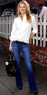Stars in Jeans - Ali Larter from #InStyle