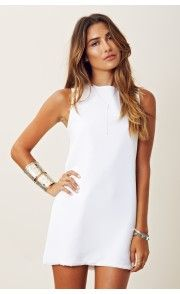 White dress + cuffs