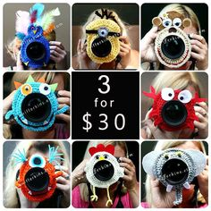 SUNDAY SALE  Deal on 3 Camera lens buddy. by KikisKreationsprops